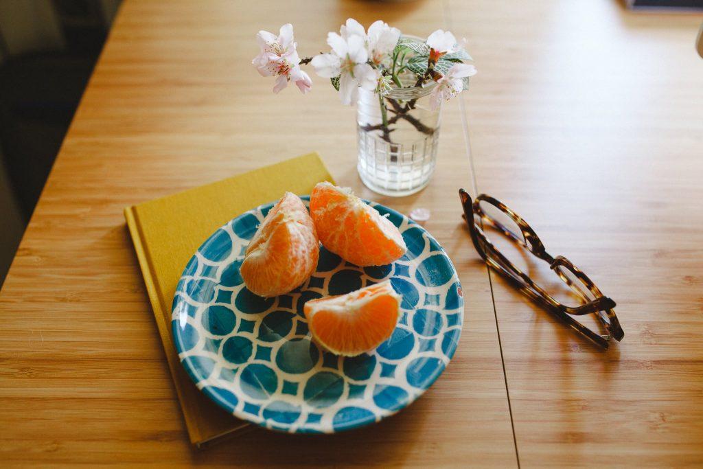 Alimentação Trabalhando em Casa