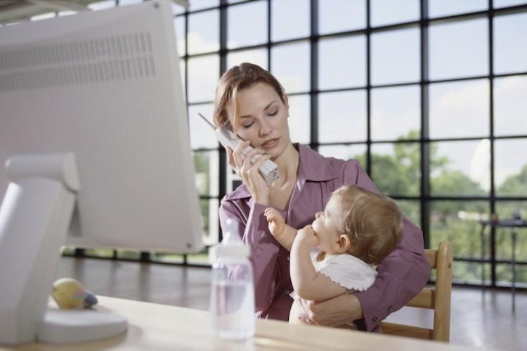 Trabalho em Casa e Filhos Pequenos
